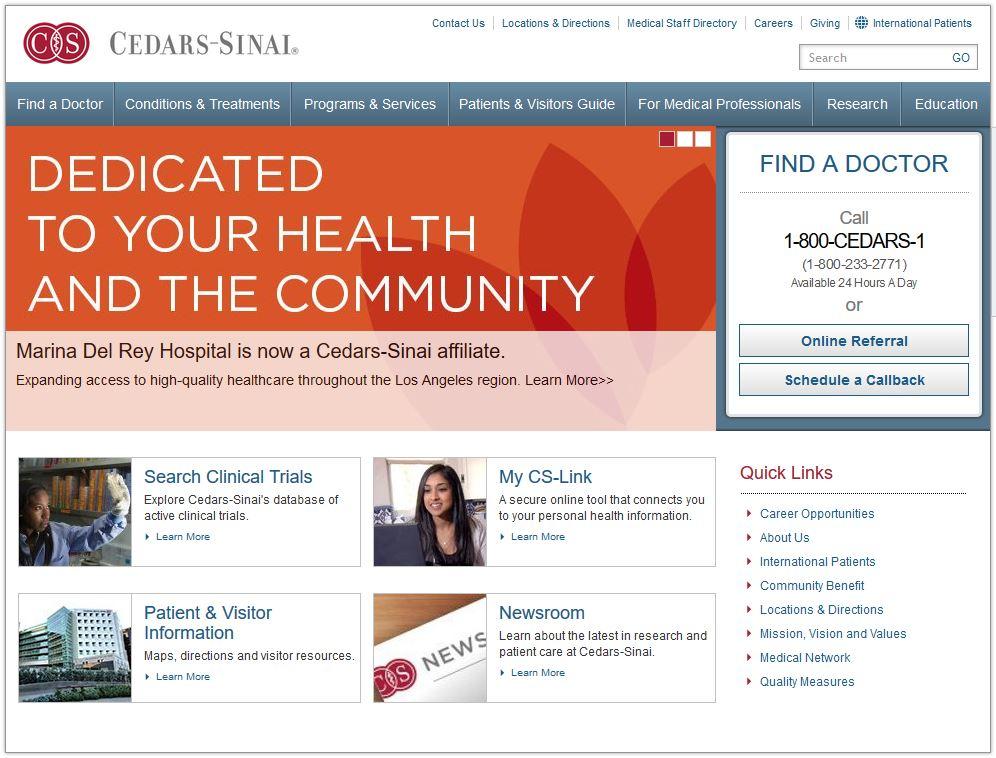 Cedars-Sinai Newsletter