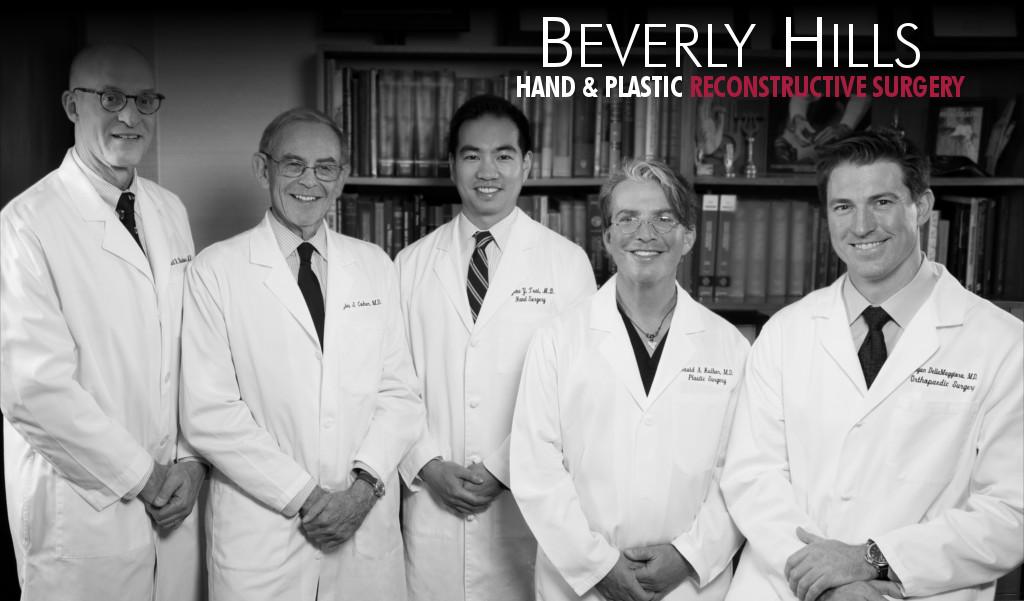 From Left: Dr. Stuart Kuschner, Dr. Myles Cohen, Dr. David Kulber, Dr. Ryan DellaMaggiora