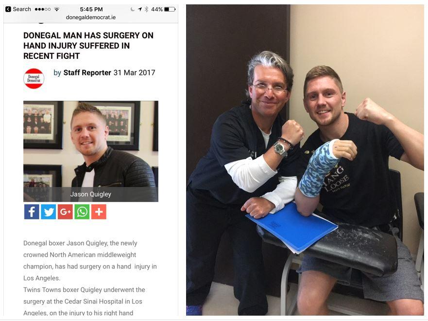 Boxer Surgery
