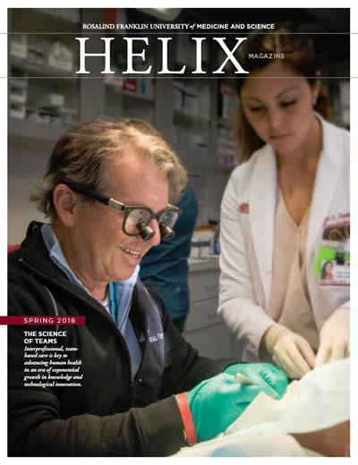 Dr. David Kulber Helix Cover Story